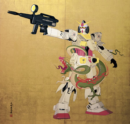 Gundam Painting Fetches $600,000