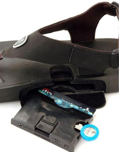 Are your shoes ringing, or is it just your feet barking? ArchPortTM Shoes , Matt Potts, Wallet, Creditcard-holder, Cellphone, GPS, ArchPort Shoes, Maxwell Smart, Phones, Fashion, shoes, sandals, Designer