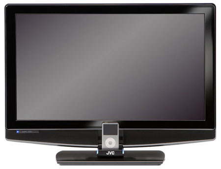 JVC Combo Unveils HDTV Cum iPod Docking Station