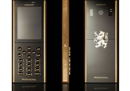 Elite Find of the Day: Mobiado Professional 105 GCB 24 karat Gold Phone