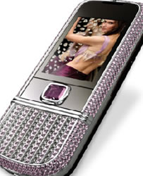 Blinged Nokia 8800 Screams Luxury