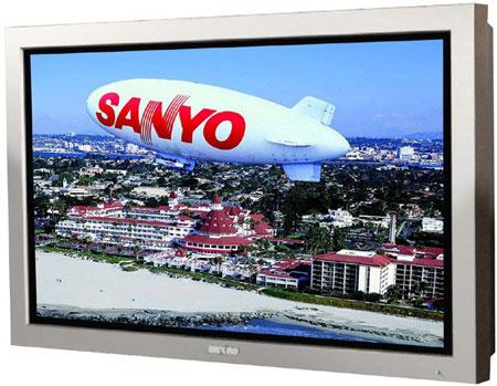 Sanyo's 52-inch 1080p CE52SR1 LCD Soaks Water