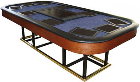 Touchscreen Poker Table