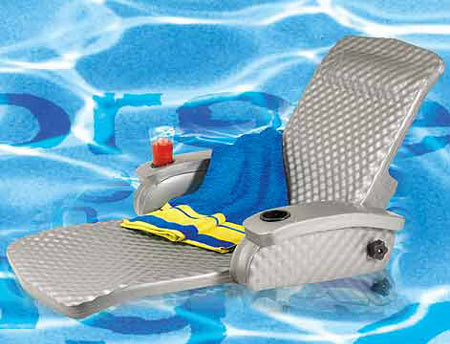 Unsinkable Pool Lounge Chair Is Utterly Soothing!