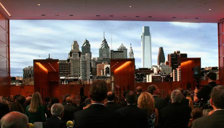 video led wall Barco Video Wall of Comcast Center Costs $22 million