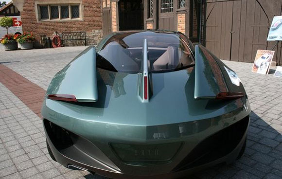 Limited Edition Alfa Romeo Bertone BAT 11 Concept Eyes Manufacturer!