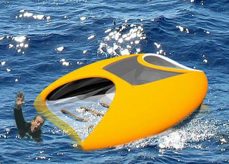 Seascout Ocean Rescue Robot