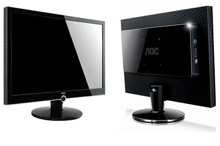 AOC's 22-inch 2230Fm HD3 Display Incorporates Media Player
