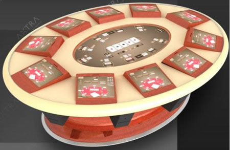 Axtra Electronic Poker Table