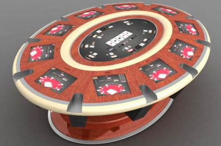 Elite Find of the Day: Axtra Electronic Poker Table