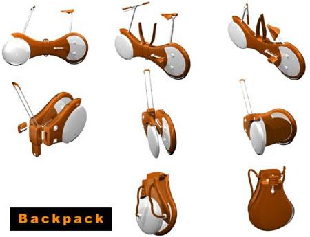 Back Pack Bike