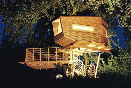 Contemporary Treehouses by Baumraum