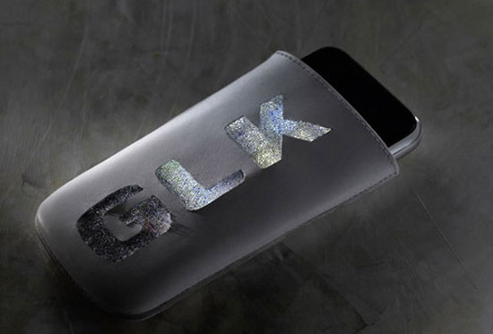 Elite Find of the Day: Swarovski Encrusted iPhone Pouch by Mercedes Benz