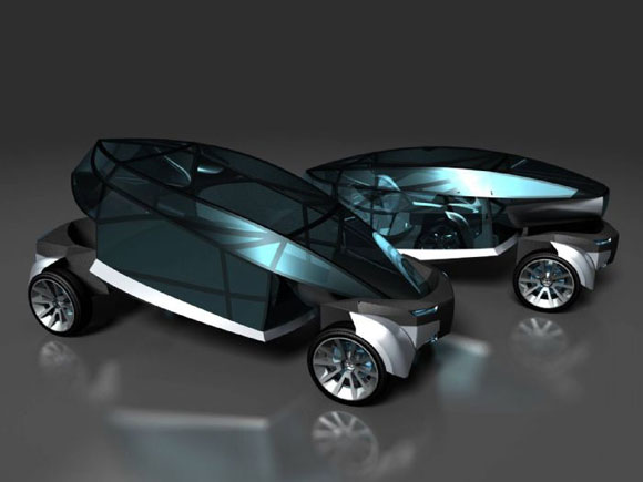 Chinese Diamond-Coupe Concept by Huiwen Ji is For Car fanatics