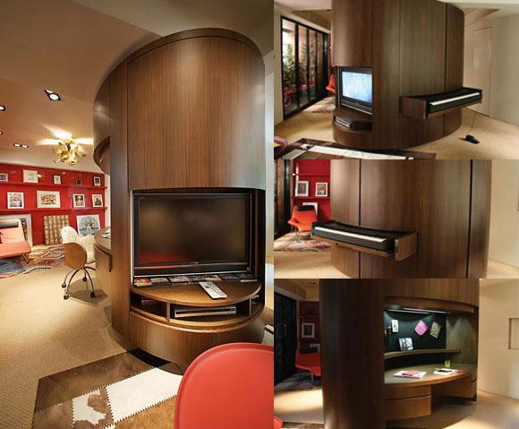 Elliptical Cabinet