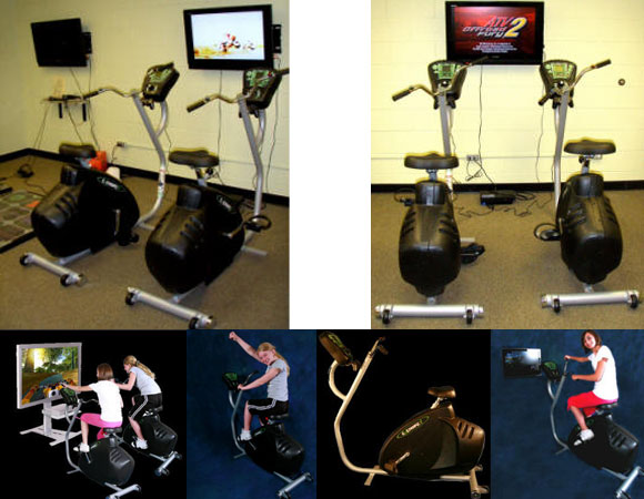 Exerbike Pro Game Bike: Cause Pedal Governs Your Triumph Here!