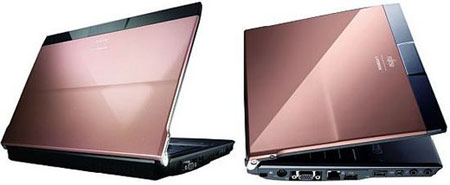Fujitsu Unveils LifeBook P8010 Limited Pink Gold Edition with 3.5G