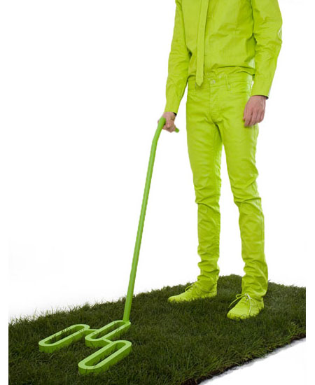 The Grass Scanner: Because Grass is Always Greener on Other Side!