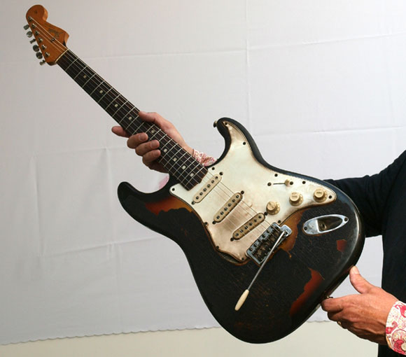 Jimi Hendrix Burnt Guitar May Fetch £500000 At Auction