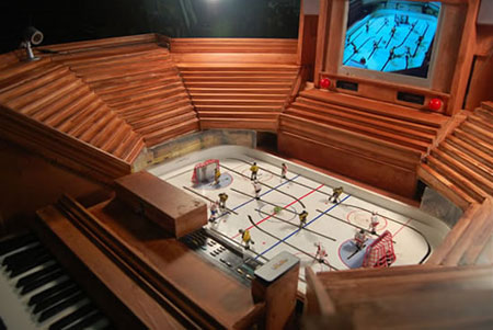 Hockey Organ by Graeme Patterson: Where Sports Marries Music!