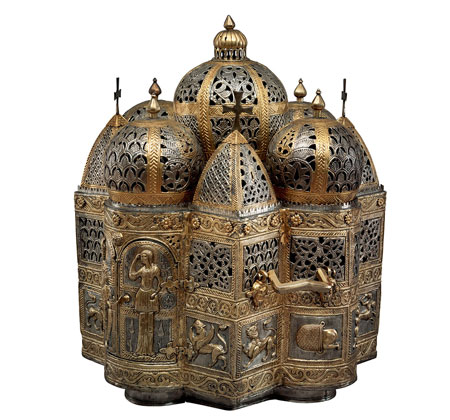 Church-Shaped Antique Incense Burner