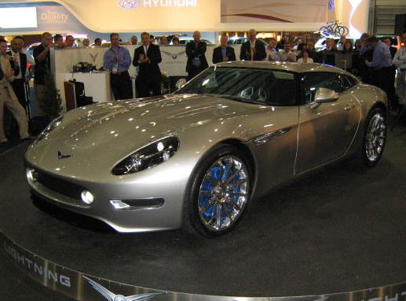 All-Electric Sports Car