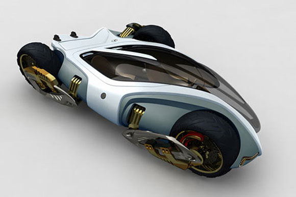 magic trike main Magic Tricycle Cum Motorbike Concept For Tough Roads
