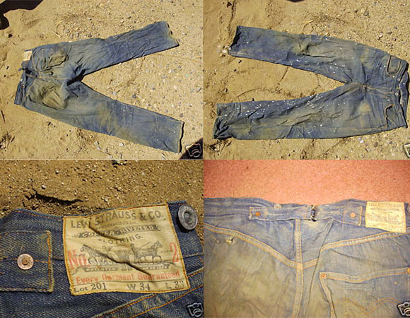 100-Years-Old Levis Invites Bid Over $17,600 at eBay