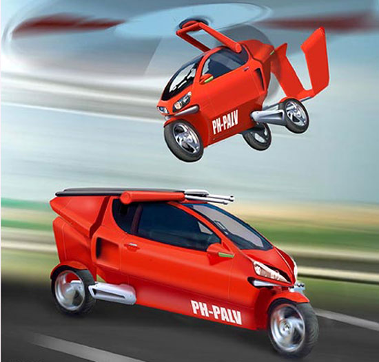 Elite Gadget of the Week: PAL-V, The Super Cool Flying Car