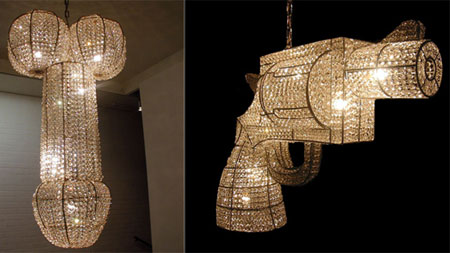 Customized Bling Chandeliers