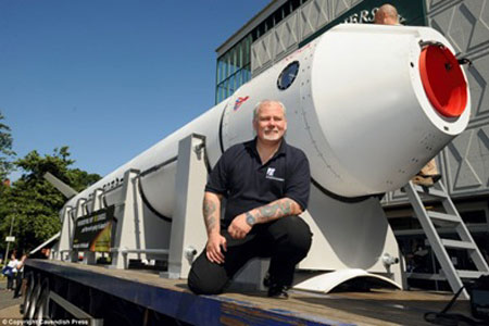 £98,000 Nova 2 Capsule by Steve Bennett to Offer Space Flights by 2013