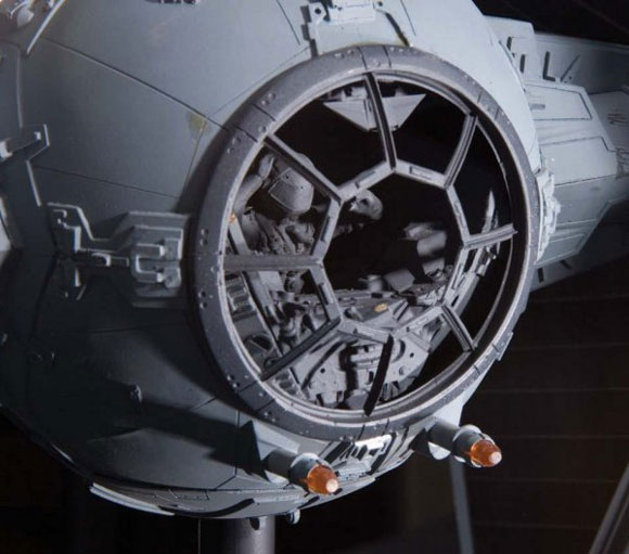 Original T.I.E Fighter Filming Model goes on sale for $170k, eBay, Luxury, StarWars, sale, holy crap, star wars, darth vader, movie, classic, sale, prop, TIE Fighter, ship, auction, antique