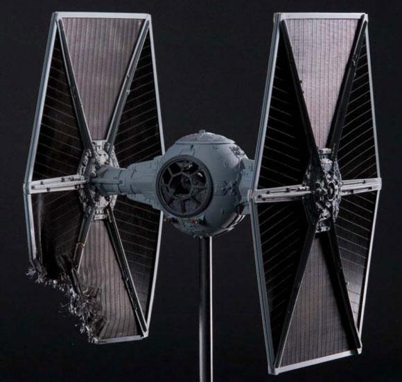 Original T.I.E Fighter Filming Model goes on sale for $170k, eBay, Luxury, StarWars, sale, holy crap, star wars, darth vader, movie, classic, sale, prop, TIE Fighter, ship, auction, antique  tie-fighter-model2 tie_fighter1
