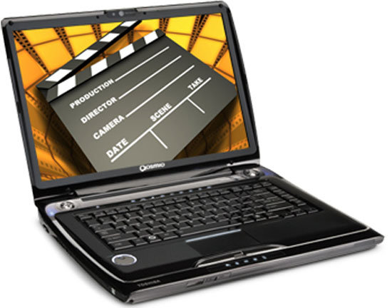 Toshiba Qosmio F55 Laptop Features Garmin GPS Technology