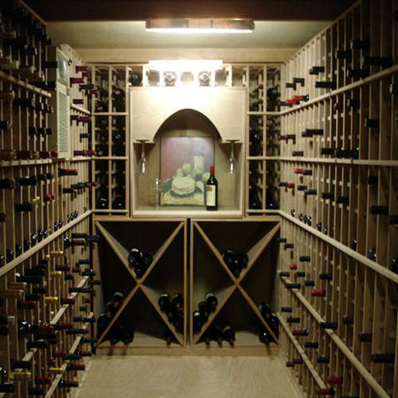 Walk-In Wine Cellar Vault For Wine Collector's