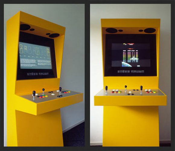 Retro Space: An Elite Arcade Cabinet by Martin Koch