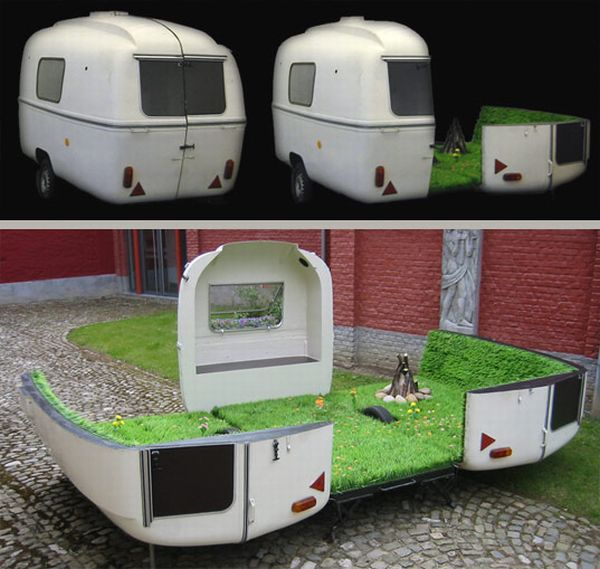 Elite Find of the Day: Caravan, a Portable Park by Kevin Van Braak