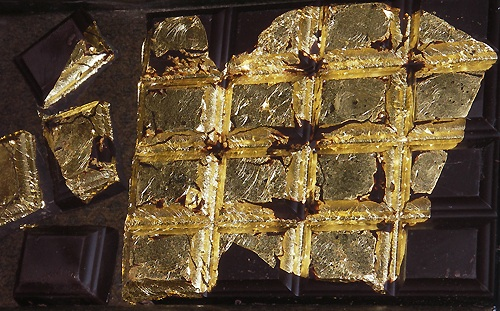 Edible Gold Leaf is the Priciest Food Ever