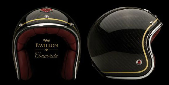 Deluxe Ruby Pavillon Helmets From Les Ateliers