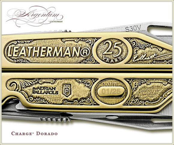 Luxury Leatherman Knife Costs $40,000