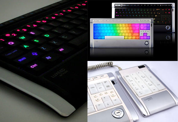 Elite Find of the Day: Luxeed Dynamic Pixel LED Keyboard