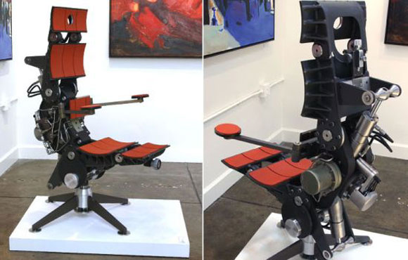 Matrix Unplugged Chair Features Nuclear Sub Technology
