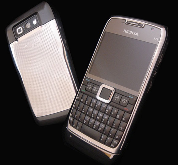 Nokia E71 Gets Goldstriker Touch