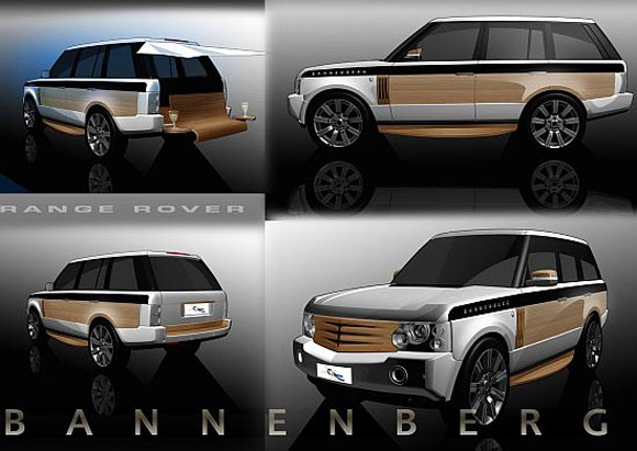 rangerover Range Rover: An Ultimate Coupe Yacht