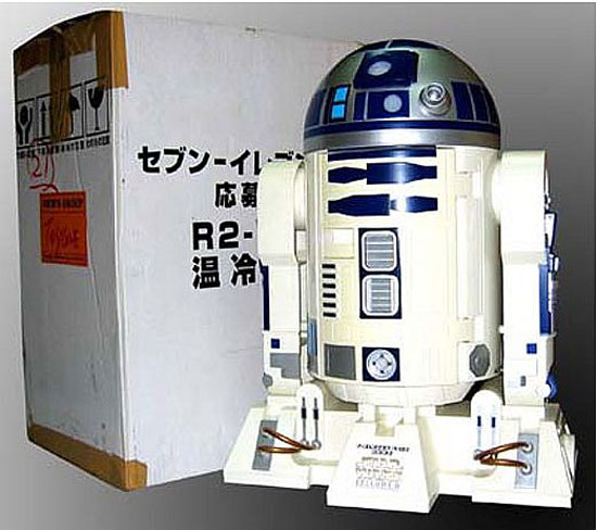 R2-D2 Mini Fridge Preserves Hot and Cold Both