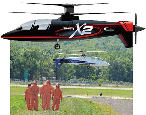 سيكورسكى تختبر أسرع هليكوبتر العالم
