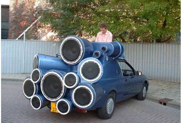 Mobile DJ Car