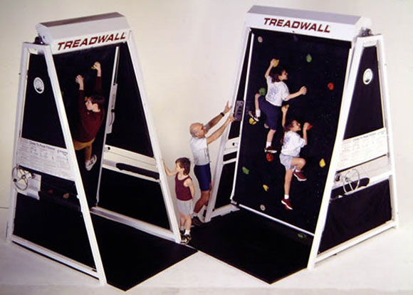$10,000 Treadwall: Literally Climbing Walls & Virtually Rock Climbing