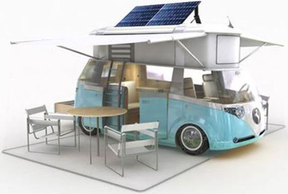 Eco-Retro: VW Westfalia Camper Van Goes Green