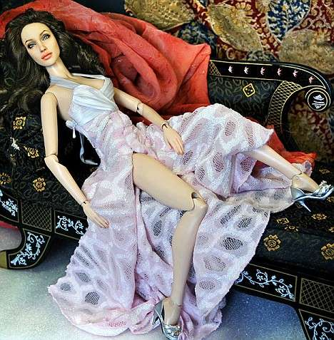 New Angelina Jolie Barbie doll
